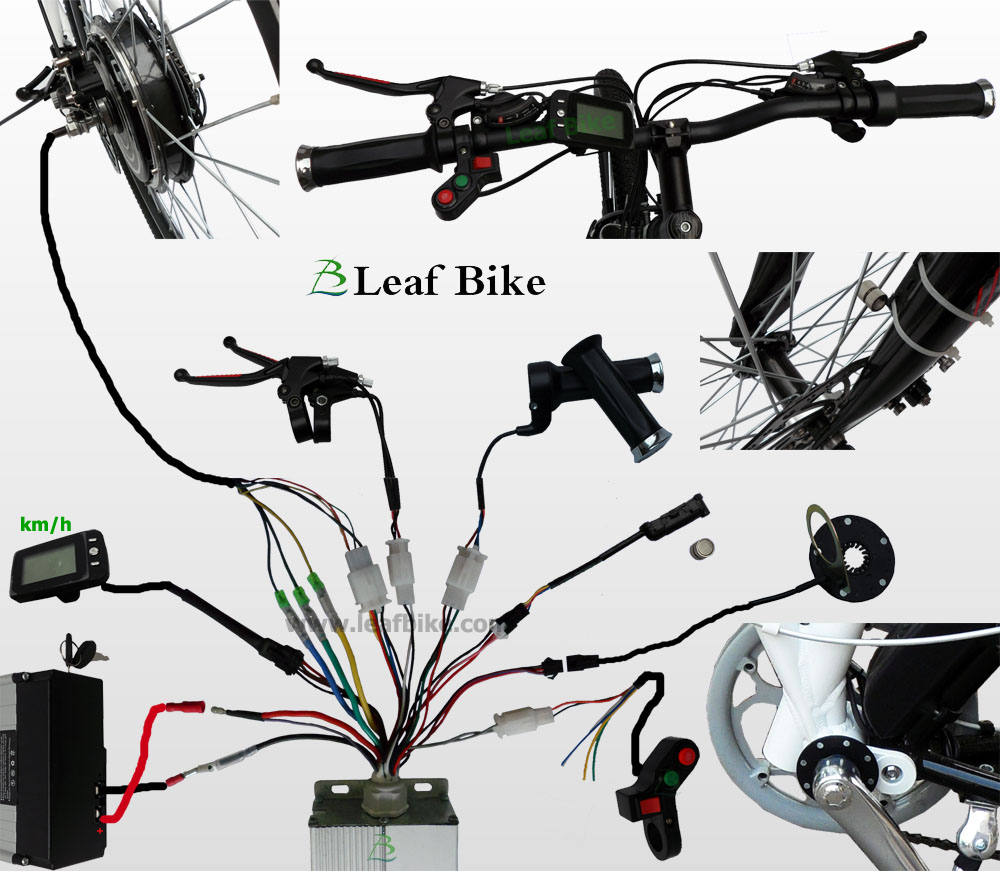 24 inch 36v 750w front hub motor electric bike conversion kit wire diagram for bldc hub motor electric bike conversion kit asfbconference2016 Gallery